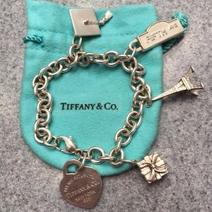Tiffany & Co Charm Bracelet (all charms included)